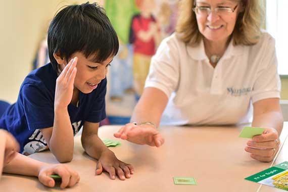 Englisch für Kinder Lehrer